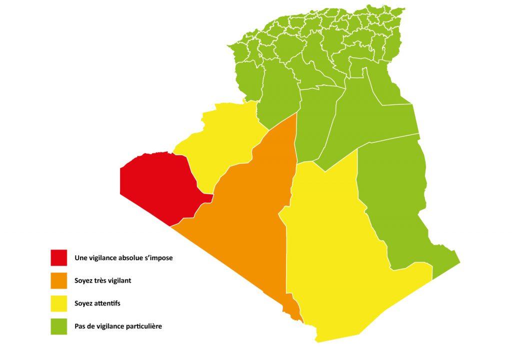 Carte de vigilance météorologiques